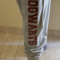 Hogwarts Sweatpants,  Work Out pants, Hogwarts Sweatpants, Harry Potter Inspired Fitness Sweatpants