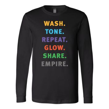Wash Tone Repeat Rodan and Fields Conversation Starter Tee Long Sleeve