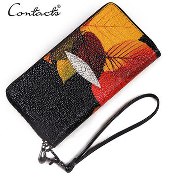Ladies Bags Stylish Casual Print Wallet [9338152199]