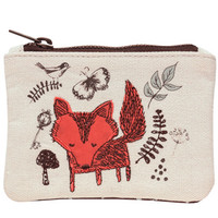 woodland zip purse at Paperchase