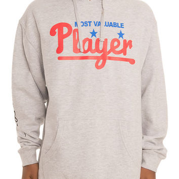 MVP Hoodie in Heather Grey