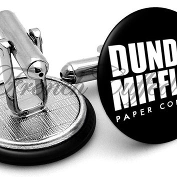 Dunder Mifflin The Office Cufflinks