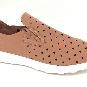 Not Rated Marlum Nude Fashion Sneakers