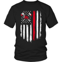 Limited Edition - Firefighter Flag Shirt