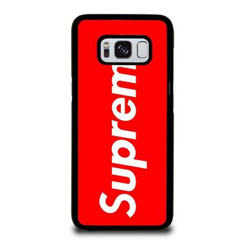 SUPREME 2 Samsung Galaxy S8 Case Cover