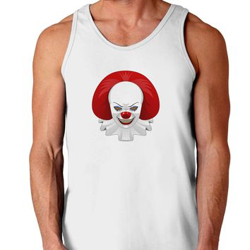 Scary Clown Face 2 - Halloween Loose Tank Top