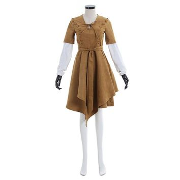 Star Wars Cosplay Princess Leia Organa in Ework Celebration Outfit Star Wars 1998 The Power of the Force Cosplay Costume