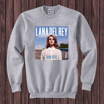 Lana Del Rey sweater Sweatshirt Crewneck Men or Women Unisex Size
