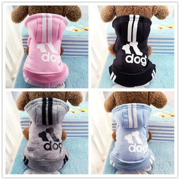 New arrival 2016  Fall and winter clothes Teddy poodle sweater vest pet clothes dog coat with cartoon & animals pattern