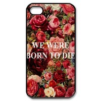 Lana Del Rey Design TPU Protective Cover Case For Iphone 4 4s iphone4s-82318