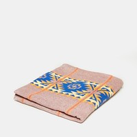 Vintage Blue Graphic Camp Blanket - Urban Outfitters