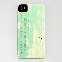 Lonely iPhone Case by RDelean | Society6