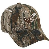 Duck Dynasty Officially Licensed Camo Duck Hunting Hat w/ Brown Duck