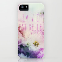 La Vie Est Belle iPhone & iPod Case by Sandra Arduini