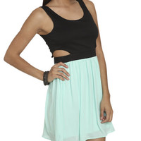 Ponte Side Cutout Dress | Shop Dresses at Wet Seal