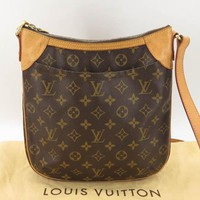 AUTH LOUIS VUITTON M56390 MONOGRAM ODEON PM SHOULDER BAG EY658