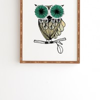 Gabi Hoot Framed Wall Art