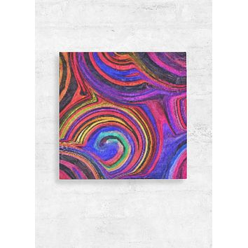 Wood Swirl Wall Art