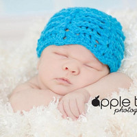 Crochet Pattern for Unisex Wave Beanie Hat - 6 sizes, baby to large adult - Welcome to sell finished items