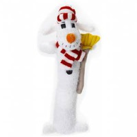 Multipet Holiday Loofa Snowman 12 inch