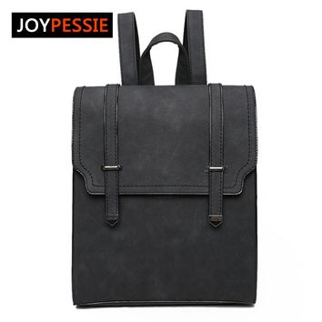 Joypessie 2016 Quality Fashion Girls School Bag New Designed Brand Cool Urban Backpack Double Arrow Women Backpack