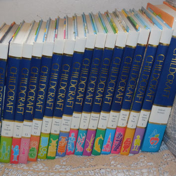 CHILDCRAFT 1992 Like Brand New Great Condition. Look to Hardly Been Used / 18 Books in All/ NOT Included In Any Coupon dIscount Sales