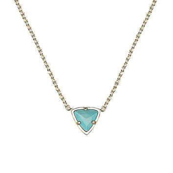 Perry Pendant Necklace in Turquoise Magnesite - Kendra Scott Jewelry