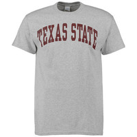 Texas State Bobcats New Agenda Arch T-Shirt - Gray