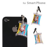 Nostalgic Showa Collection Earphone Jack Accessory (Kuppy Ramune)