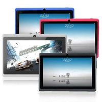 7 inch Android tablet pc Allwinner A33 DDR3 512MB ROM 8GB, Wifi Quad core, dual Camera Muti touch FM  with Bluetooth