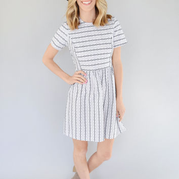 Madison Embroidery Dress