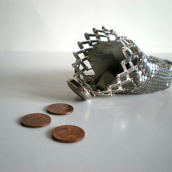 Silver Coin Purse 1920s Penny Pincher by HoundDogDigs on Etsy