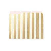 kate spade new york Gold-Striped File Folder Set | Dillards