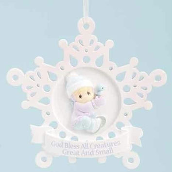 6 Christmas Ornaments - Precious Moments