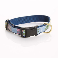 Patchwork Dog Collar
