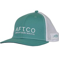 Echo Trucker Hat in Menthol by AFTCO
