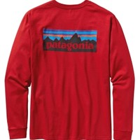 Patagonia Men's P6 Logo Long Sleeve T-Shirt - Dick's Sporting Goods