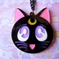 Luna Cat Sailor Moon Necklace