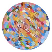 FUNKY RIPPLES PLATE