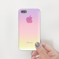 Sweet Sunset Gradient so sweet pattern Plastic Hard Case - iphone 5 - iphone 4 - iphone 4s - Samsung S3 - Samsung S4 - Samsung Note 2