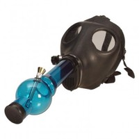 Plastic Gas Mask Bong