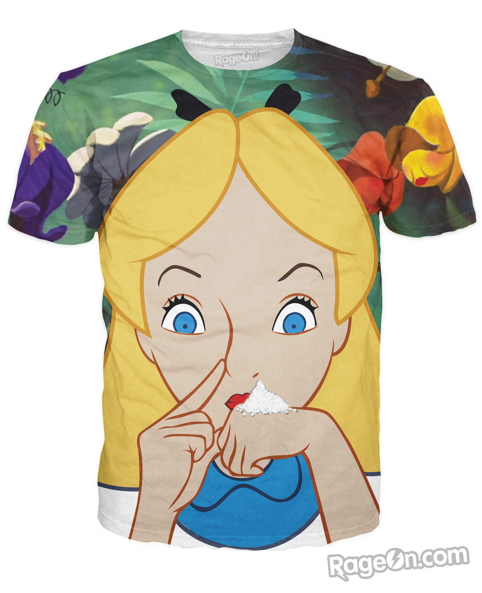 Alice in Cocaland T-Shirt from RageOn! 0f2cda2422