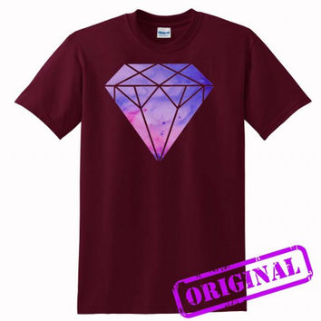 galaxy diamond for shirt maroon, tshirt maroon unisex adult
