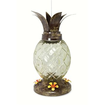 SheilaShrubs.com: Pineapple Hummingbird Feeder PINE88155 by Pinebush: Hummingbird Feeders