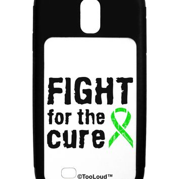 Fight for the Cure - Lime Green Ribbon Lyme Disease Galaxy S4 Case  by TooLoud