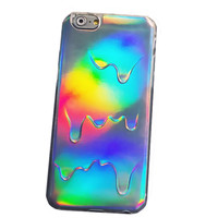 Iridescent Drippy Phone Case