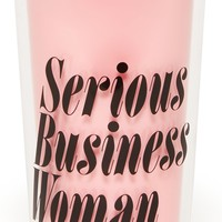 Serious Business Woman Hot Stuff Thermal Travel Coffee Mug by Bando