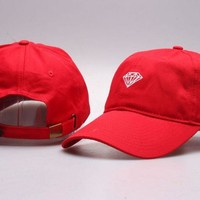 Perfect Diamond Visor Hats snapbacks hats Women Men Embroidery Sports Sun Hat Baseball Cap Hat
