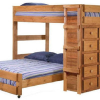 Henderson Full Size Storage Loft Bed