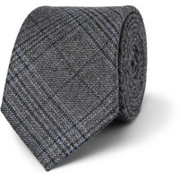 Gucci - Prince of Wales Check Woven-Wool Tie | MR PORTER